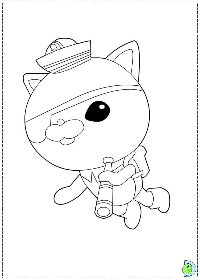 Octonauts Coloring Page Coloring Pages Free Coloring Pages