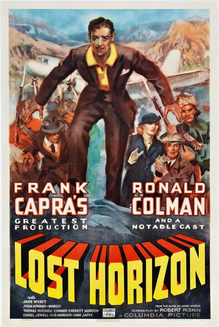 Allan as lucie manette colman had long wanted to play sydney car - Lost Horizon Frank Capra With Ronald Colman Far From Perfect But Still Evocative Coleman As Usual Is Stellar In A Low Key But Graceful English Way