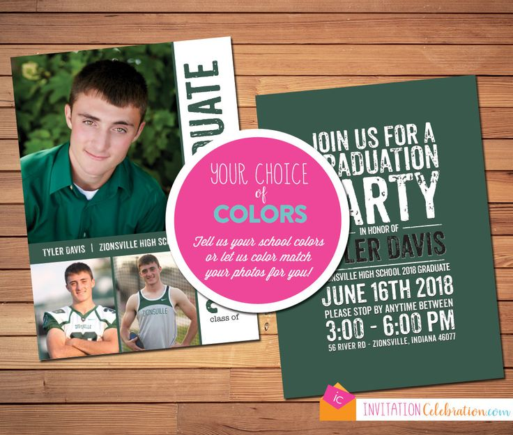 25+ best graduation invitations images on Pinterest Grad parties
