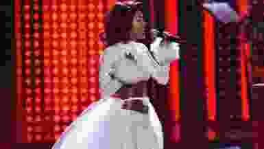 Watch Teyana Taylor Purr Her Way Through 'Santa Baby' For VH1's Divas Holiday - MTV