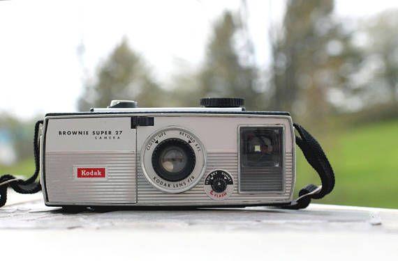 Vintage Kodak Brownie Super 27 Vintage Camera Film Camera