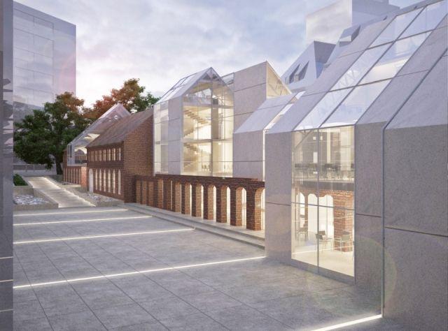 concept of revitalization and reconstruction of one of Politechnika Gdańska buildings; project: make Architekci