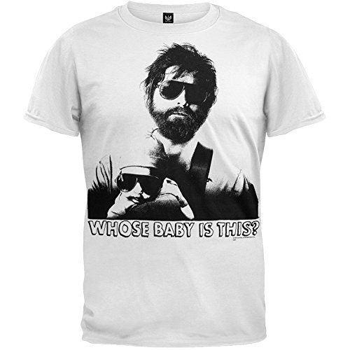 The Hangover - Whose Baby T-shirt - Small @ niftywarehouse.com #NiftyWarehouse #Hangover #TheHangover #Movies #Comedy
