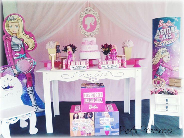 Decoração Perfil Provence Tema Barbie