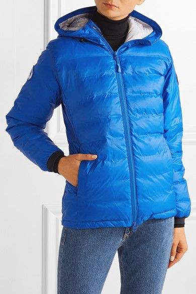 Canada Goose - Camp Hooded Quilted Shell Down Jacket - Bright blue - x small