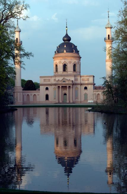 Mosque at Schwetzingen Palace Gardens.