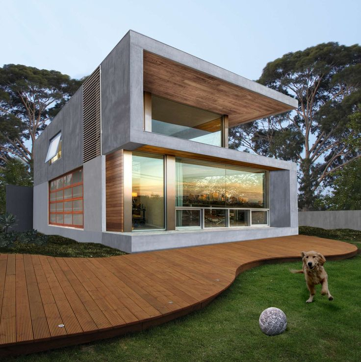 Kew view house 4a a residential architecture box for Residential landscape architects melbourne