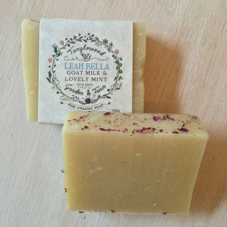 Tanglewood Organic Soap - Leah Bella Goat Milk - $4.50