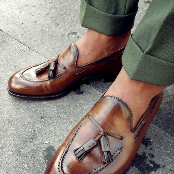 Crockett & Jones Tassel Loafers