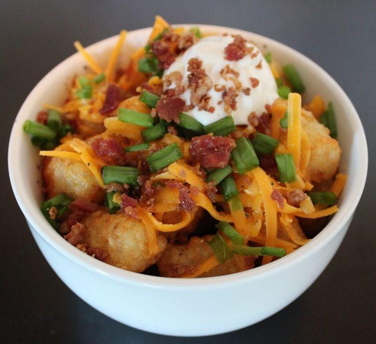 Baked Potato Tots « Cookbook Hub