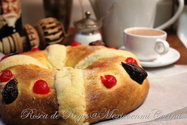 Receta de Rosca de Reyes, tu familia se sorprenderá cuando pruebe esta deliciosa rosca preparada por ti, sigue las fotos del paso a paso.