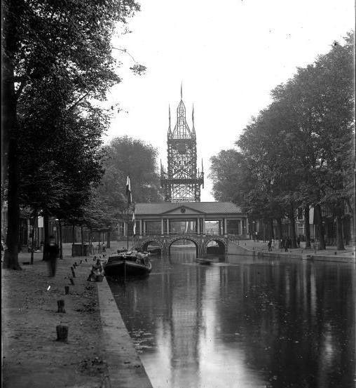 De Nieuwe Rijn vroeger.