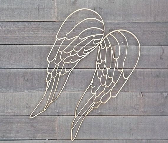 GOLD Angel Wings / Angel Wings Wall Decor / By SHABILICIOUSDECOR Part 98