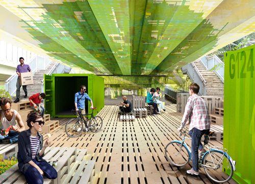 """Renzo Piano & G124 """"Sotto il Viadotto"""""""