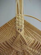 Wrapping Basket Handles - BasketWeaving.com