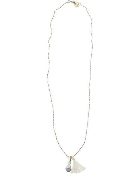 Marble Pendant Necklace - Scotch