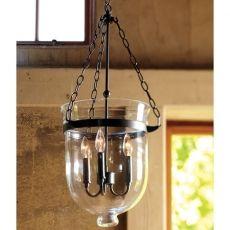 Glass Hindi Lantern