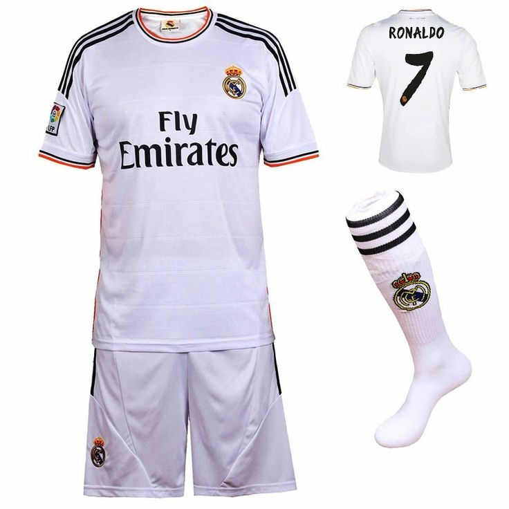 Clothing & Accessories 2013/2014 FC Real Madrid Home