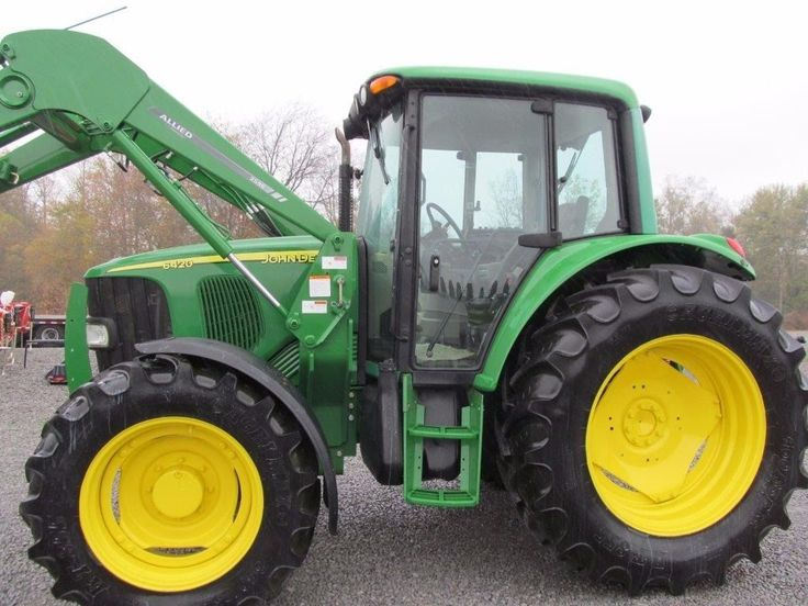 heavy-equipment: John Deere 6420 Diesel Tractor 4 X 4 With Cab & Allied Loader #HeavyEquipment - John Deere 6420 Diesel Tractor 4 X 4 With Cab & Allied Loader...