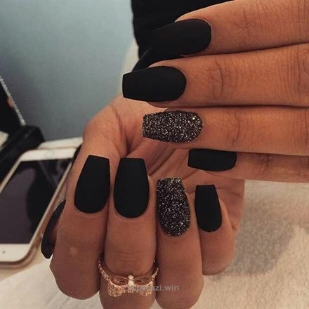 MATTE BLACK NAILS FOR 2017 They're easy, elegant, and basic. You may't go far flawed with matte b