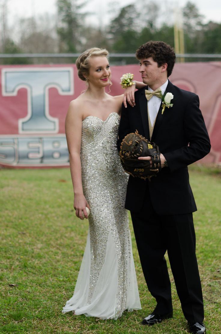 Prom, Baseball field, Sports, Seniors, Photo inspiration Reflecting Hope Photography South-West AL