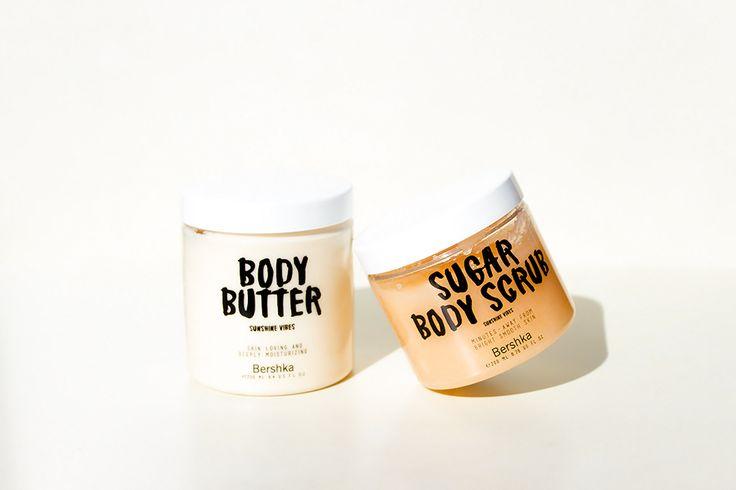 Bershka Sunshine Vibes body scrub and body butter: review and opinion || Bershka 2017 invierno Bershka accesorios