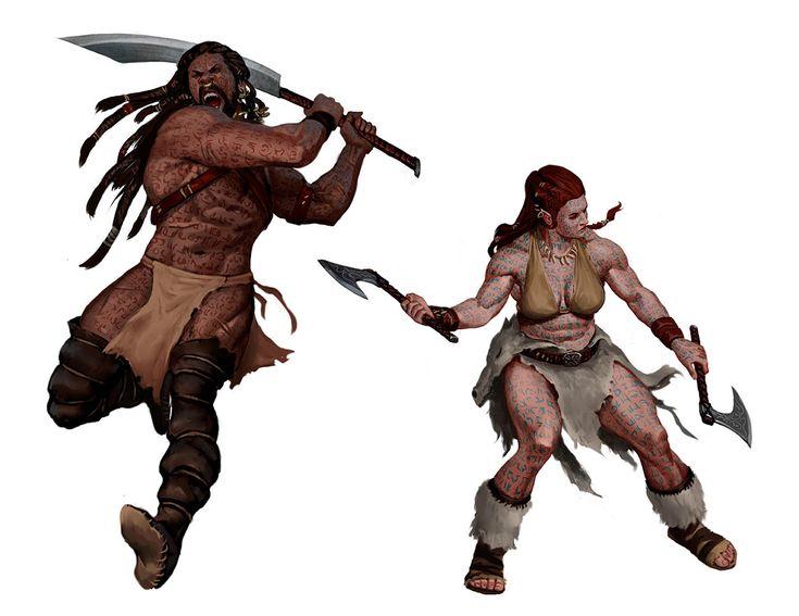 ArtStation - Fantasy Game characters, Javier Charro