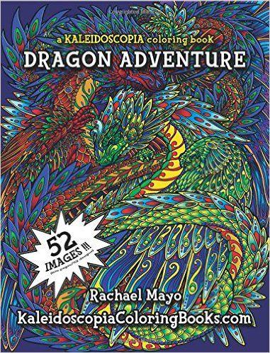 Amazon Dragon Adventure A Kaleidoscopia Coloring