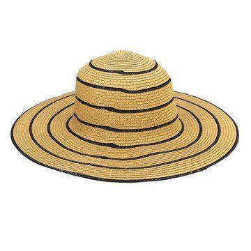Crushable Women Summer Beach Straw Floppy Sun Hat