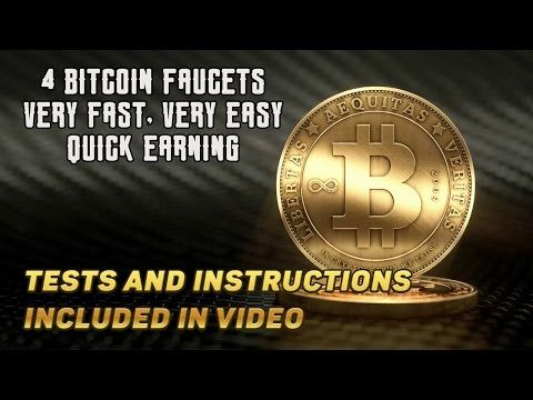 Awesome BITCOIN Faucets ► Very easy and fast FREE BITCOINS (satoshi) - YouTube