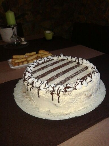 Tiramisu torta!  Évfordulóra! :-)