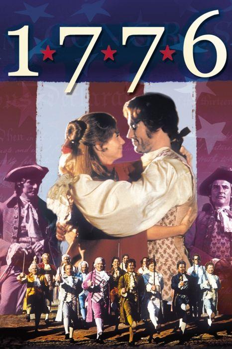 1776 Movie Poster - William Daniels, Howard Da Silva, Ken Howard #1776, #MoviePoster, #Musicals, #PeterH, #Hunt, #HowardDaSilva, #KenHoward, #WilliamDaniels
