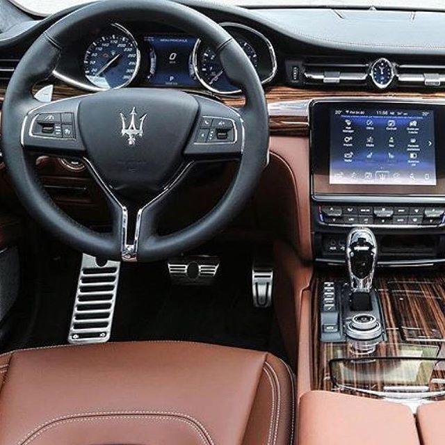 2008 Maserati Quattroporte Interior