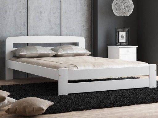 Wasza sypialnia jest już prawie gotowa, ale czegoś brakuje? Nie szukajcie dalej! Łóżko sosnowe LIDIA idealnie wkomponuje się w wasze wnętrze. Jest to podwójne łóżko wykonane w pełni z drewna sosnowego, w kolorze białym i skandynawskiej stylistyce. W zestawie stelaż 12 paneli z drewna brzozowego. Łóżko dzięki prostocie i eleganckiemu wyglądowi nada każdej sypialni charakteru! :)  Wymiary: 140x200 Kolor: biały   #łóżkodrewniane #łóżkososnowe #meble #sypialnia #dladomu #łóżkobiałe #meblesosnowe