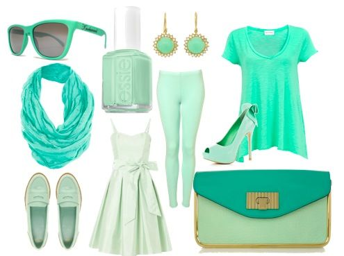 Mint Green Trend: How to Wear Mint Green | Fashionisers.com - Tempted by the Passion for Fashion
