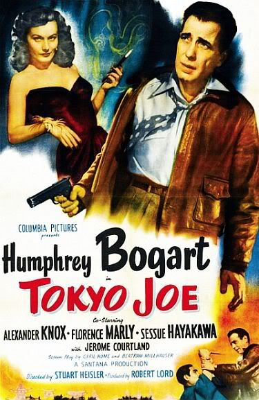 Tokyo Joe is a 1949 film directed by Stuart Heisler from a story by Steve Fisher, adapted by Walter Doniger and starring Humphrey Bogart, Florence Marly and Sessue Hayakawa. This was Heisler's first of two features starring Bogart, the other was Chain Lightning that also wrapped in 1949 but was held up in release until 1950.
