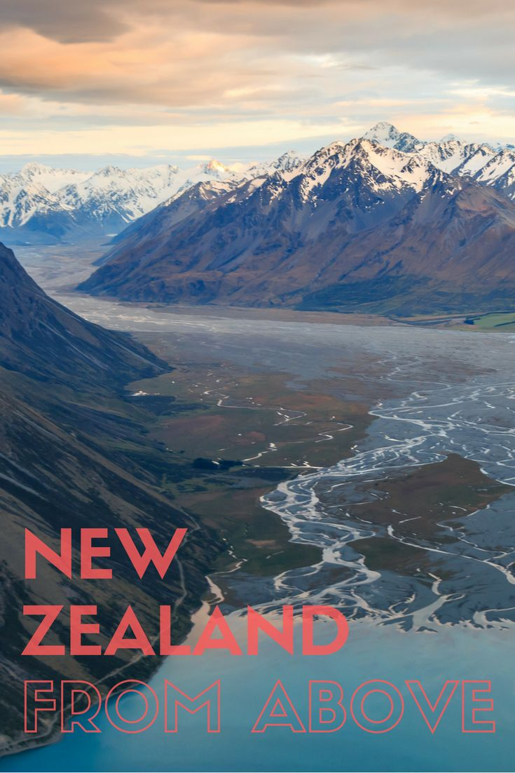 Does New Zealand look better from the ground or above?