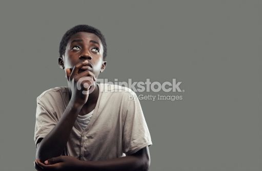 Stock Photo : African boy