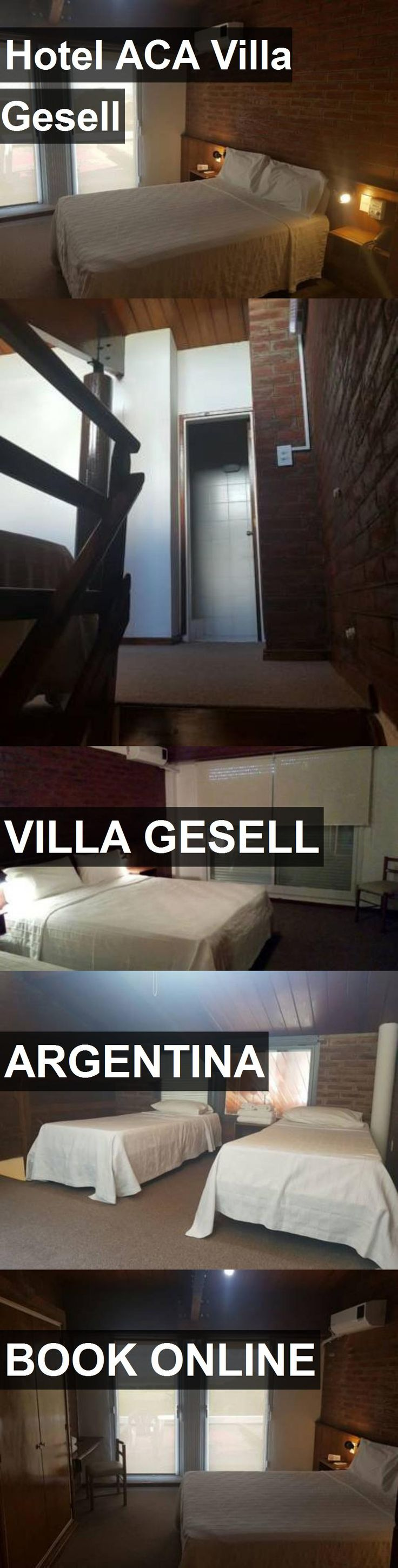 Hotel ACA Villa Gesell in Villa Gesell, Argentina. For more information, photos, reviews and best prices please follow the link. #Argentina #VillaGesell #travel #vacation #hotel