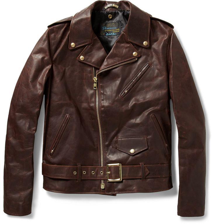 Schott leather jacket for sale