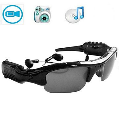 sm07 3 in 1 gepolariseerde zonnebril camera / video / mp3 1.3MP mini camera digitale video recorder eyewear camcorder – EUR € 32.17