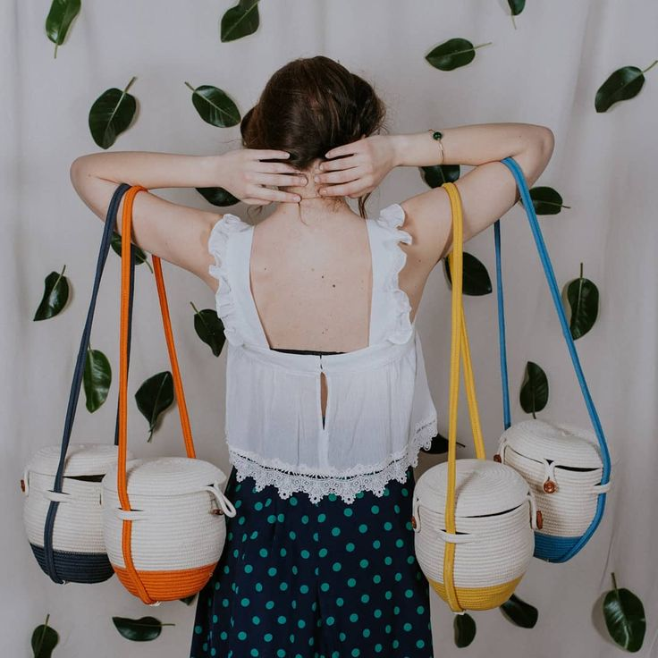 Rope basket bag perfect for this season. By @palmito.shop