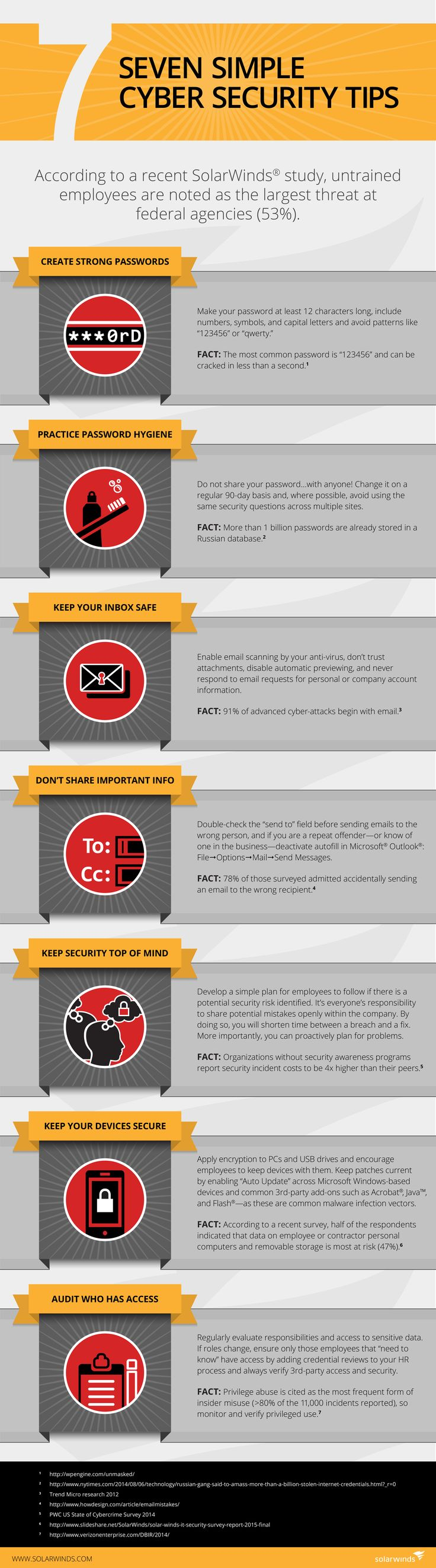 7 Tips To Keep Your Business Safe From Hackers [Infographic]