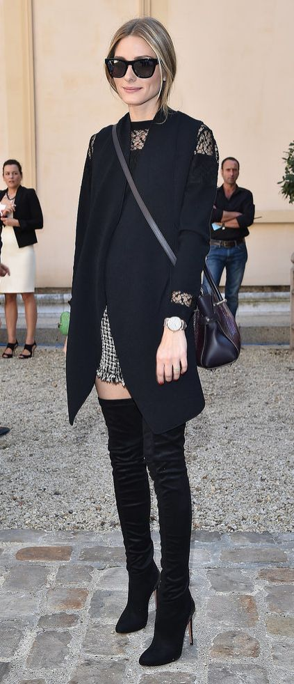 Olivia Palermo is the master of sophisticated layers.