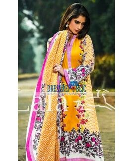 Ladies Clothing Online Sana Samia Lawn 2015