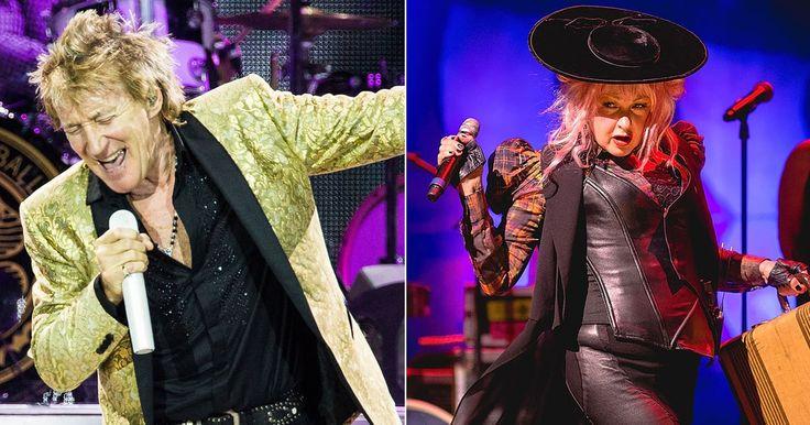 Rod Stewart, Cyndi Lauper Join for Summer Tour