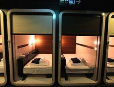 キャビン ファーストキャビン FIRST CABIN ~飛行機のファーストクラスをイメージした新しいコンパクトホテル~