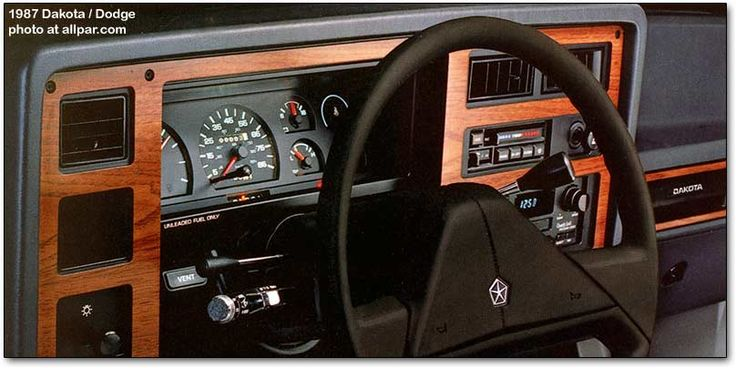 E Fb A Fad B C B Dodge Dakota Dashboards on 1992 Dodge Dakota Sport 4x4
