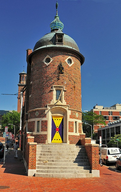 The Harvard Lampoon, Harvard Square, Cambridge, MA. Harvard alumnus, Conan O'Brien was just one of the many editors of the prestigious satirical magazine, The Harvard Lampoon, who would go on to great fame in their comedic careers after graduation.