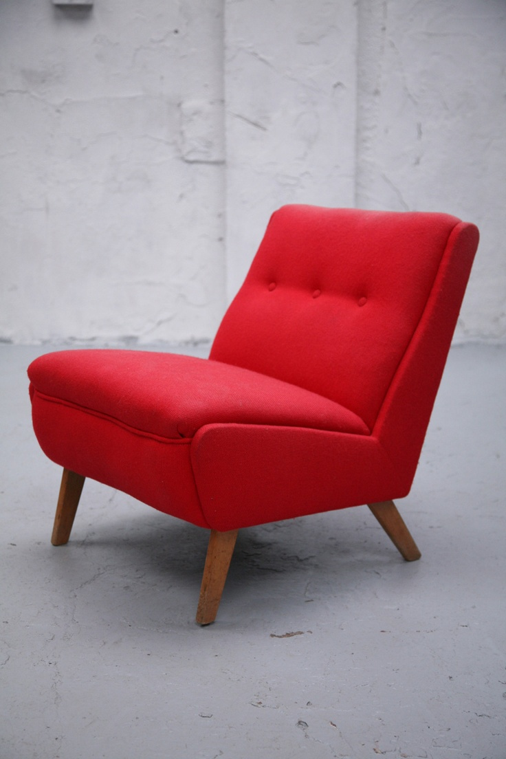 .Mid Century Modern, Woodpecker Chairs, Red Passion, Ernest Racing, Racing Furniture, Red Volume, Furniture Do Ov, Chairs Crushes